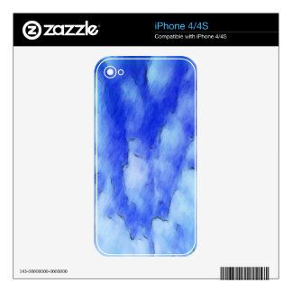 sky drawing iPhone 4S decal