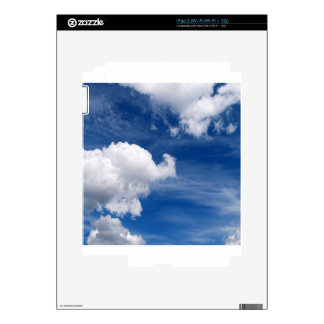 Sky Dreamful Clouds iPad 2 Skin