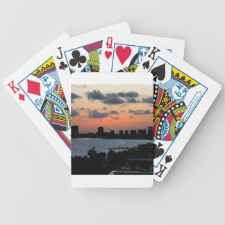 Sky Early City Light Bicycle Poker Deck
