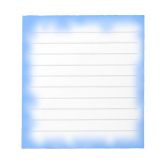 sky edge memo notepad