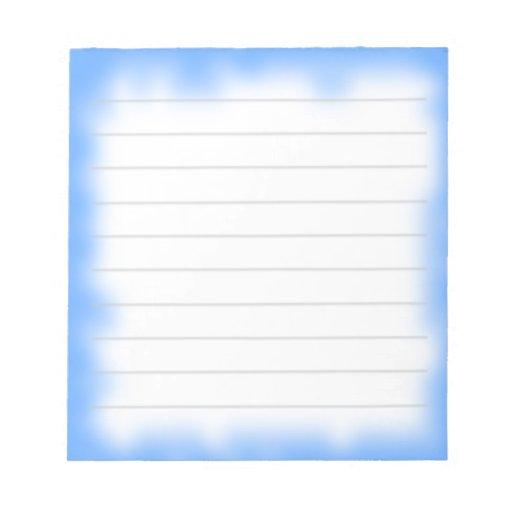 sky edge notepad