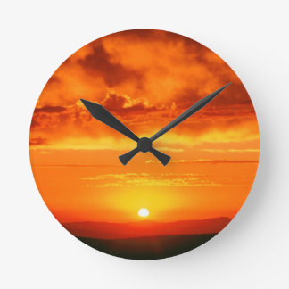 Sky Endless Sky jpg Wall Clock