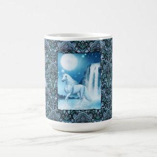 Sky Faerie Asparas and Unicorn Mug