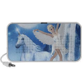 Sky Faerie Asparas and Unicorn Mp3 Speakers