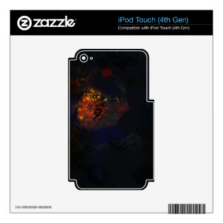 Sky Fire Decals For iPod Touch 4G