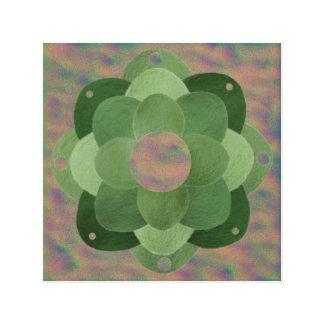 Sky flower Mandala Canvas Print