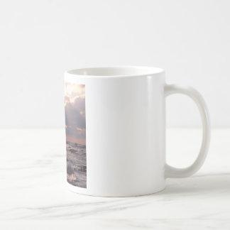 Sky Frantic Waves Lake Michigan Coffee Mug