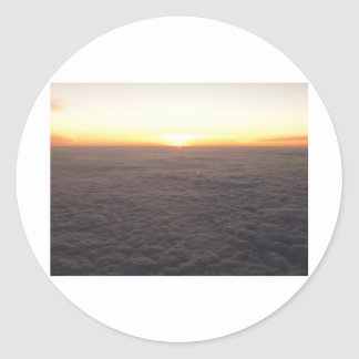 sky from 10000 feet stickers