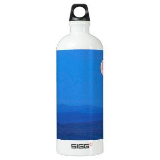 Sky Full Moon Aboverolling Tundra Alaska Aluminum Water Bottle