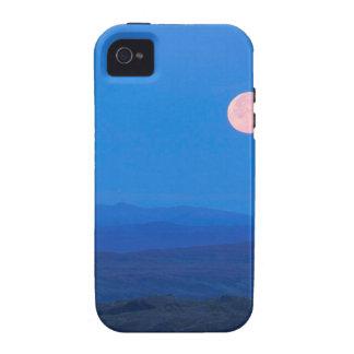 Sky Full Moon Aboverolling Tundra Alaska iPhone 4 Covers