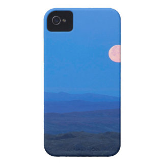 Sky Full Moon Aboverolling Tundra Alaska iPhone 4 Case-Mate Cases