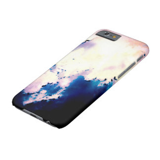 Sky full of clouds drawing design barely there iPhone 6 case