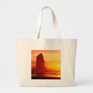 Sky Gentle Waters Cannon Beach Oregon Canvas Bags