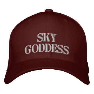 Sky Goddess Embroidered Baseball Cap