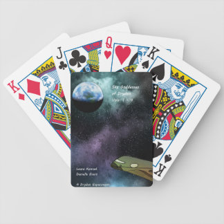 Sky Goddesses of Dryden Swag Bicycle Playing Cards
