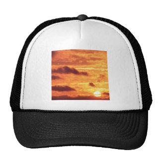 Sky Golden Glow Percy Warner Tennessee Trucker Hat