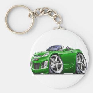 Sky Green Car Keychain