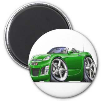 Sky Green Car Magnet