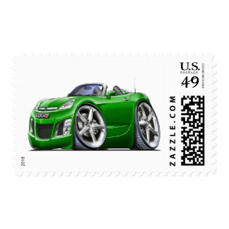 Sky Green Car Stamp