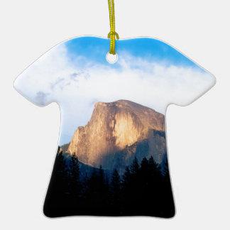 Sky Half Dome Yosemite Christmas Ornaments