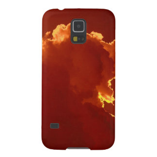 Sky Halo Light Stormy Skies Galaxy S5 Cases
