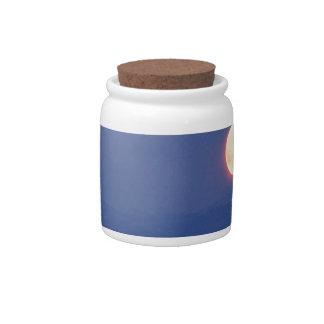 Sky Harvest Moon Wyoming Candy Jar