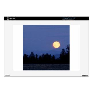 Sky Harvest Moon Wyoming Laptop Skins