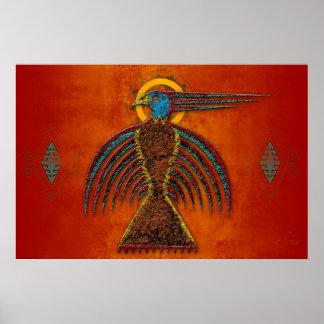 Sky Hawk Print