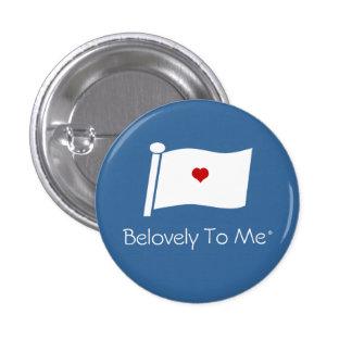 Sky Heart Banner Pinback Button