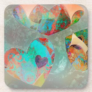 Sky Hearts Coaster