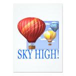 Sky High 5x7 Paper Invitation Card