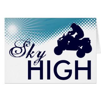 sky high atv card