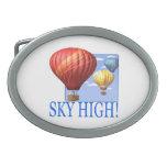 Sky High Belt Buckle