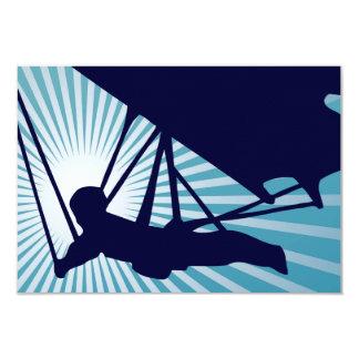 sky high hang gliding card