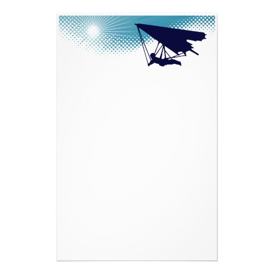sky high hang gliding stationery