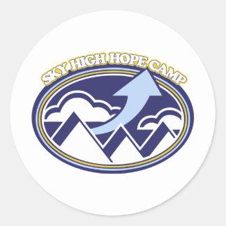 Sky High Hope Camp Classic Round Sticker