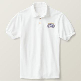 Sky High Hope Camp Embroidered Polo Shirt