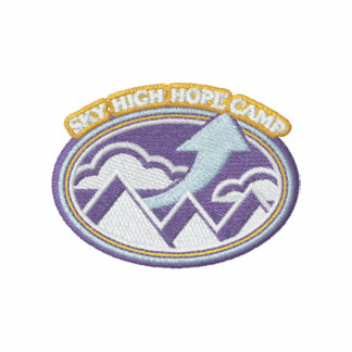 Sky High Hope Camp Embroidered Shirt