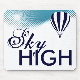 sky high hot air balloon mouse pad