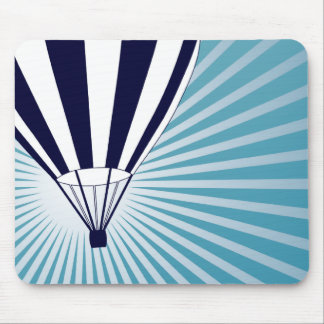 sky high hot air balloons mouse pad