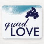 sky high quad love mouse pad