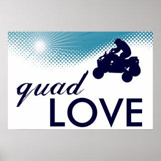 sky high quad love poster