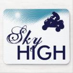 sky high quads mouse pad