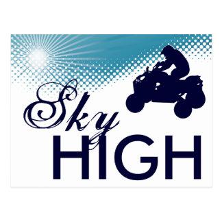 sky high quads postcard