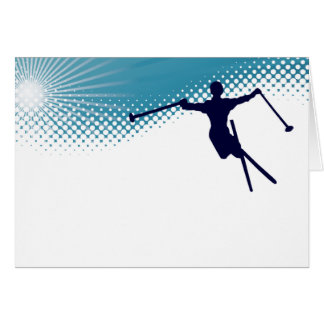sky high skiing card