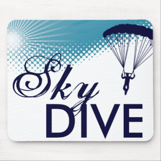 sky high skydive mouse pad