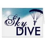sky high skydiver cards