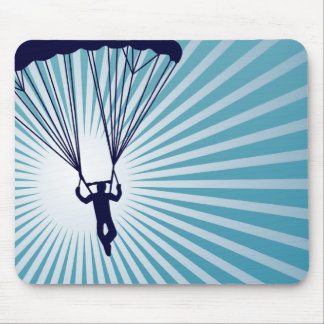 sky high skydiving mouse pad
