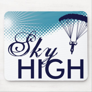 sky high skydiving mousepad