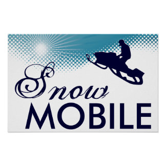 sky high snowmobile poster